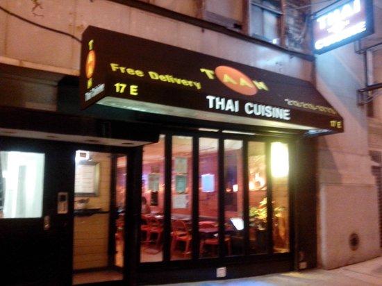 Taan Thai Cuisine: Exterior