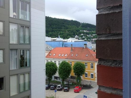 Comfort Hotel Holberg: view from hotel window