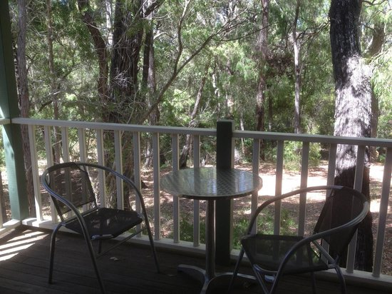 Riverglen Chalets: View from our deck