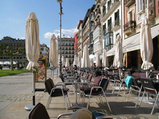 Gran Hotel La Perla: Plaza for the Perla