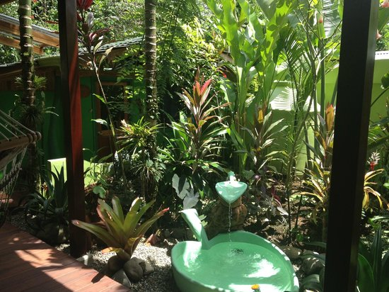 Physis Caribbean Bed & Breakfast: jungle atmosphere