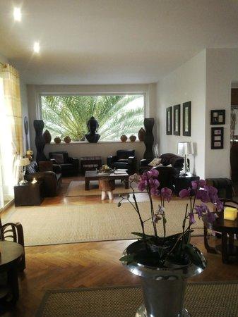 La Villa Cap d'Antibes : внутри отеля