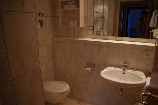 Hotel Maximilian: Bathroom - quite large and spacious