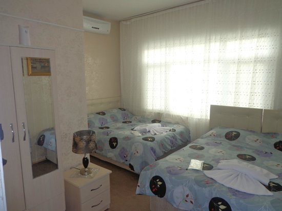 Ezgi Apartments: Family Room.Tv,Klima,Mini Bar,Gardrop.