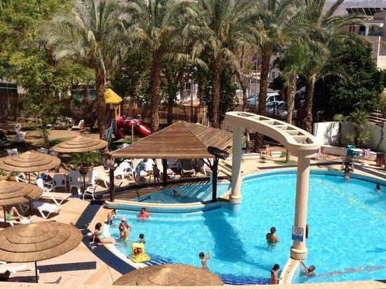 Holitel Siesta Eilat All Inclusive: Siesta 3* third floor view