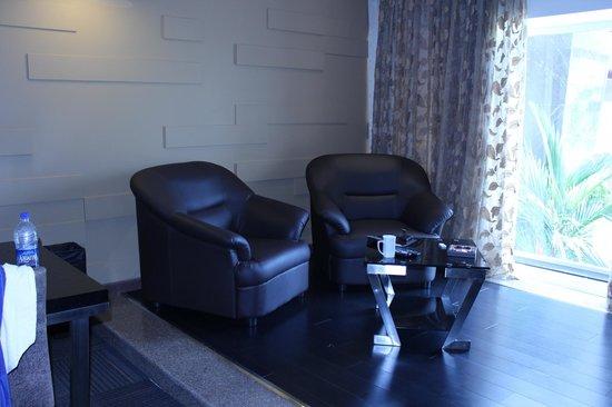 Flora Airport Hotel: living room