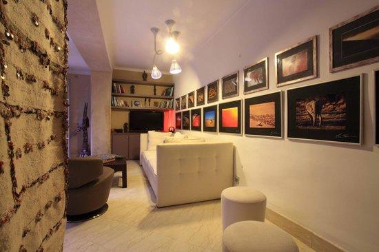 Riad Infinity Sea : main salon