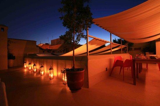 Riad Infinity Sea : terrazza