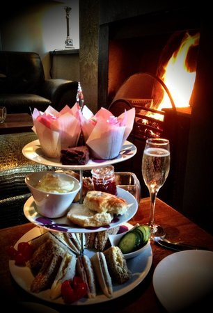 Disley, UK: Afternoon tea