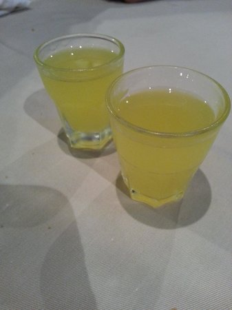 Gastone: Limoncello to DIE FOR! On the house!