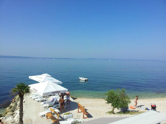 Pansion-Restaurant Amigos: view from the balcony