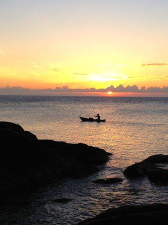 Njaya Lodge: sunrise