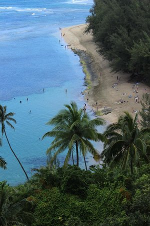 Ke E Beach Overlook Picture Of Kalalau Trail Kauai