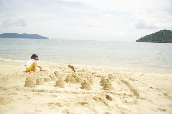 Chivapuri Beach Resort Koh Chang: The beach, very beautiful!
