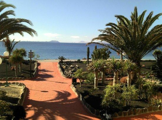 Royal Monica Playa Blanca : Blick auf Fuerteventura