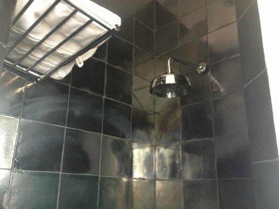 Market Hotel: loved the shower