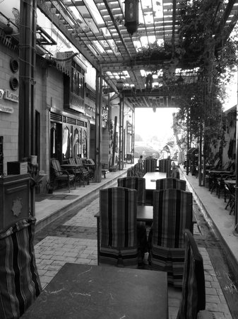 Nefertiti hotel restaurant (Al Sahaby Lane restaurant)