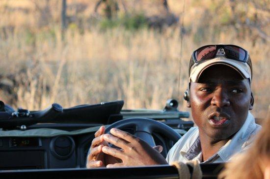 Makweti Safari Lodge: Our wonderful guide
