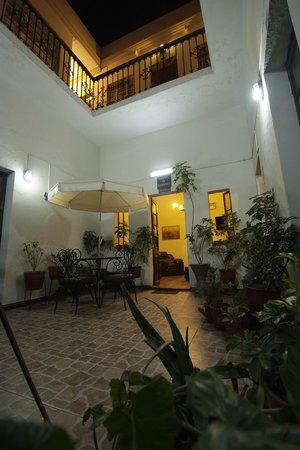 Hostal El Remanso: Entrée