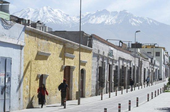 Hostal El Remanso: Calle Bolivar