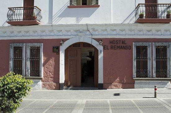 Hostal El Remanso: Facade de l'hotel