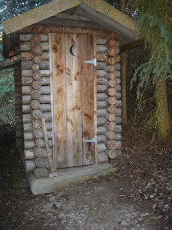 Anahim Lake, Canada: Outhouse