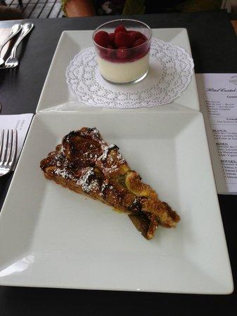 Hotel Le Cristal Restaurant: Desert at Le Cristal
