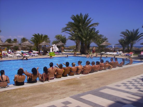 Diana Beach Club : piscine
