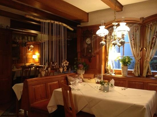 Gasthaus-Hotel Adler: Restaurant