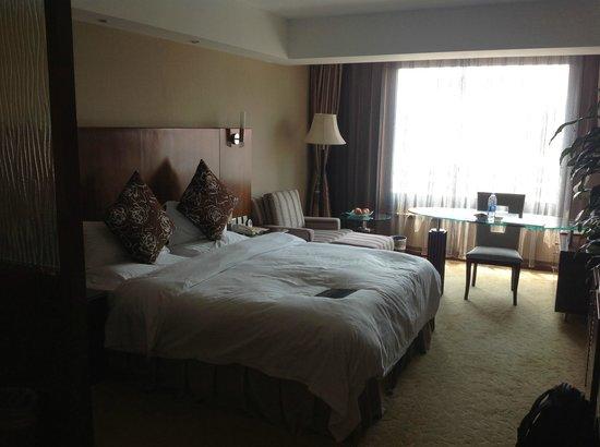 Xijiao Hotel Beijing : Bedroom (Building 5)