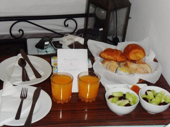 Riad Remmy : Breakfast (excluding hot drinks and yoghurts!)