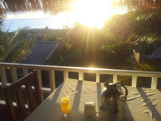 Amigo Lodge: View from the breakfast table