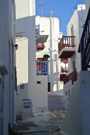 Matoyianni Street: viuzze tipiche