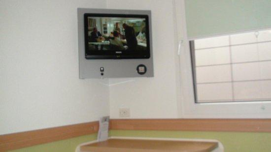Ibis Budget Flensburg City: TV in room 318