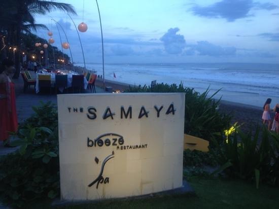 Breeze at The Samaya Seminyak: breeze restaurant