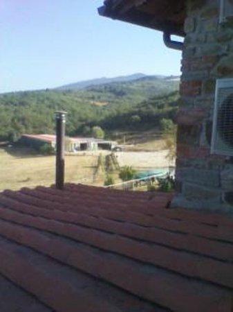 La Collina delle Stelle: Panorama dalla camera