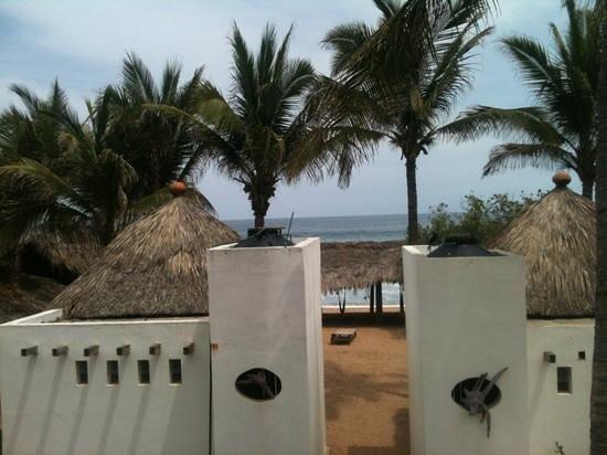 Un Sueno, Cabanas Del Pacifico: vista desde la terraza