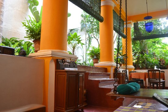 Coloniale Heritage Guesthouse : Enclosed garden