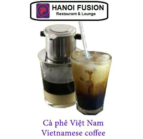 Hanoi Fusion: Vietnamese coffee with ice