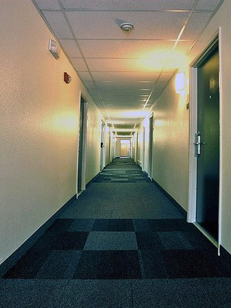 Motel 6 Seattle Sea-Tac Airport South: MInteriorHallway