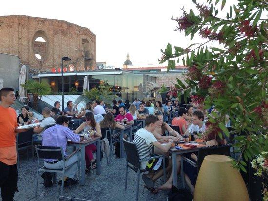 Terrazza Fotografía De Gau Cafe Madrid Tripadvisor
