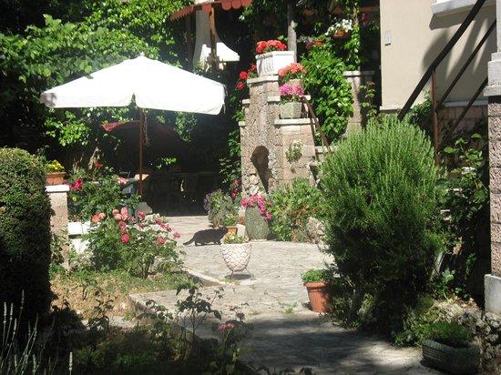 Albergo Paradiso : Giardino albergo