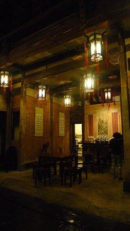 Xidi Travel Lodge : dining room