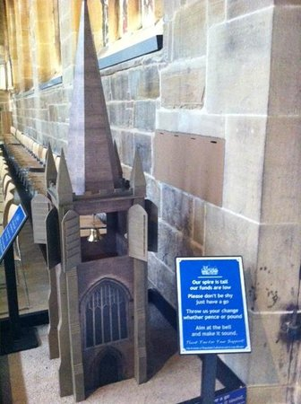 Wakefield Cathedral: Donate and ring the Bell.