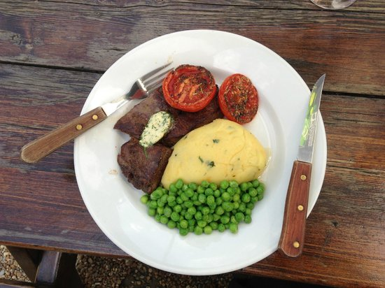 The Snowdrop: Steak ready...