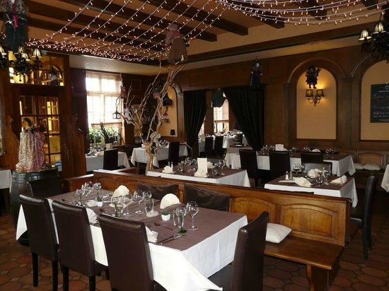 Restaurant Le Repere des Sorcieres : notre salle principal