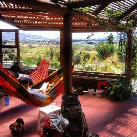 The Secret Garden Cotopaxi: Relaxing