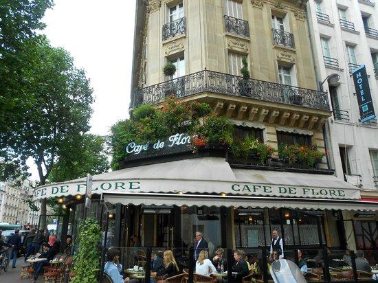Linkes Ufer (Rive Gauche): Cafe de Flore