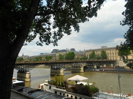 Linkes Ufer (Rive Gauche): Pont des Arts