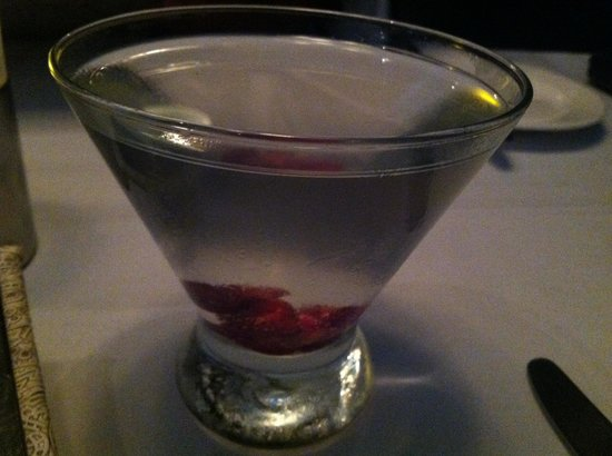 Mile High Steak and Seafood : Vodka cranberry.  Yummy